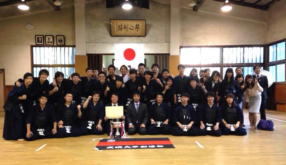 【ご報告】祝・秋季四大戦 男子優勝!(2014/10/18)