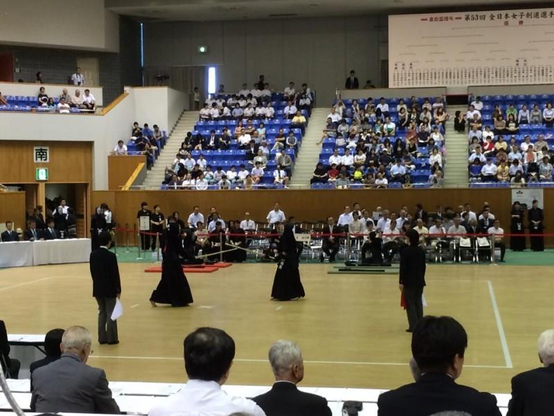 【INFO】第53回 全日本女子剣道選手権大会 インターネット中継など