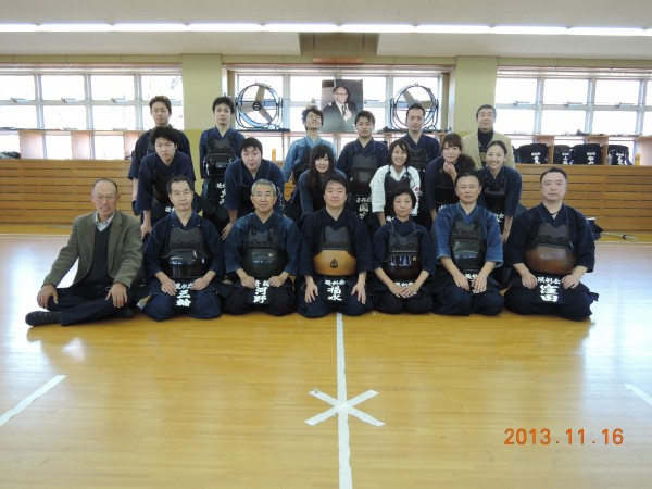 安藤杯の様子(小田部先輩より) 2013/11/16