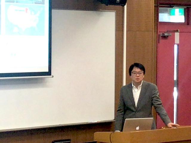 【ご報告】福永努先輩が武藤先生担当授業の経済学部「コーチングの基礎」にゲストスピーカーで参加!