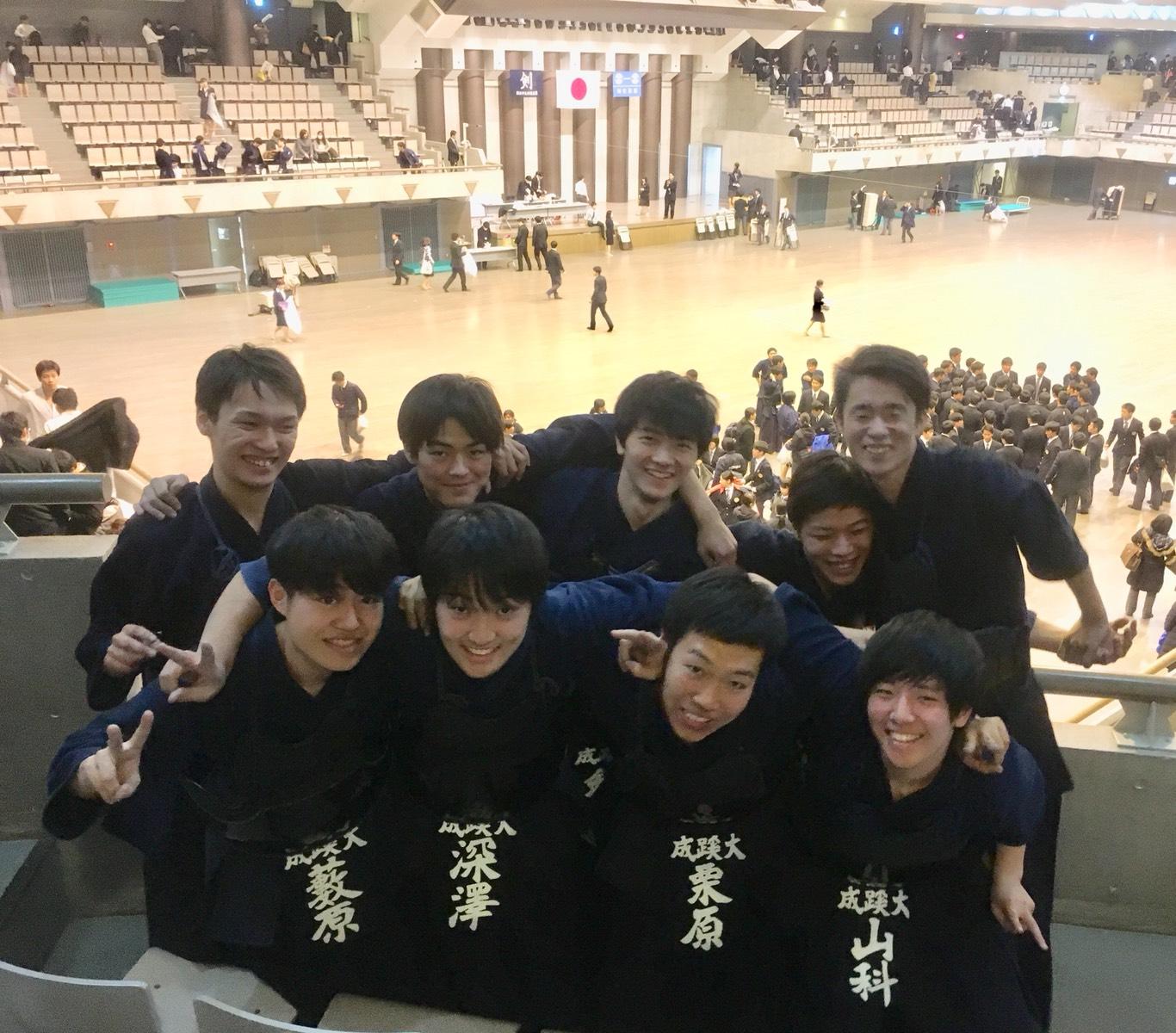 【結果】第63回関東学生剣道新人戦大会 11年ぶりベスト16(2017/11/19)